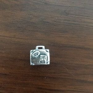 Pandora Sterling Silver Travel Suitcase Charm